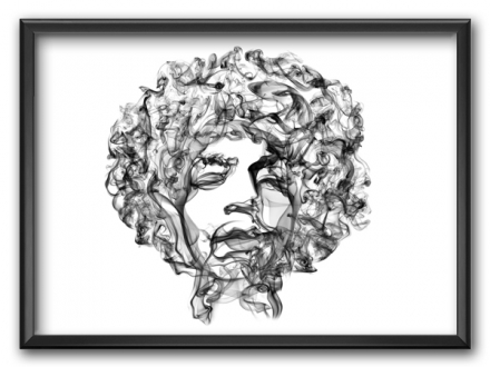 Amazing Smoke Personalities Portraits by Octavian Mielu