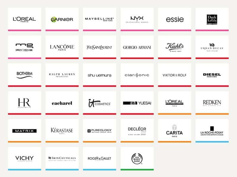 L'Oral-brands