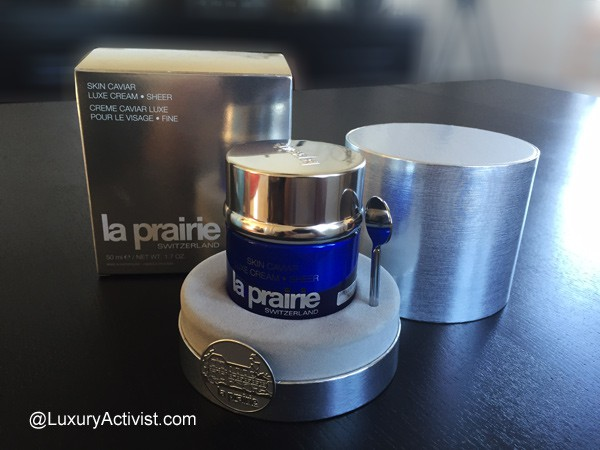 la prairie skin caviar luxe cream sheer the ultimate luxury collection luxury activist. Black Bedroom Furniture Sets. Home Design Ideas