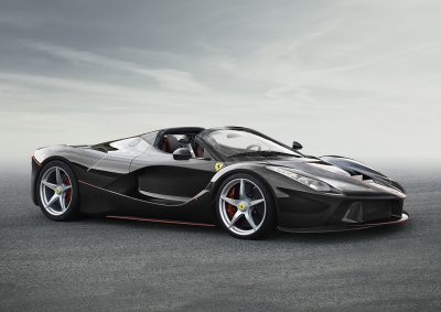 LaFerrari Open-Top, special series. One in a kind.