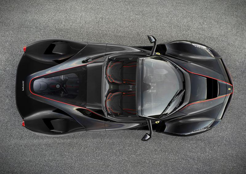 LaFerrari-open-top-limited-edition-top-view