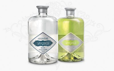 Larusée, Absinthe from Switzerland takes an acceleration in France