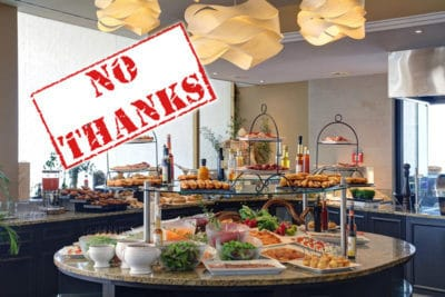 The Sunday Brunch At Le Mirador? Do Not Go!