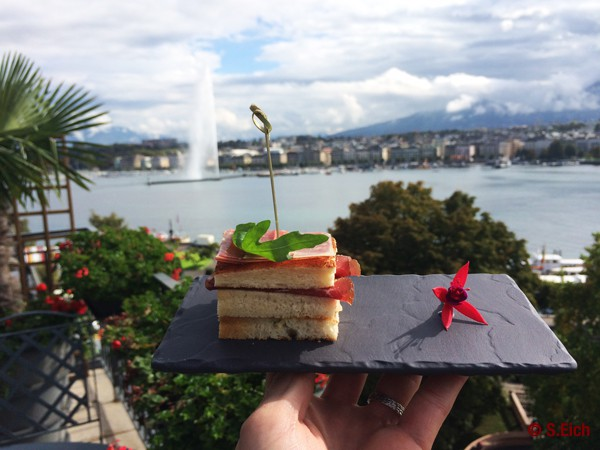 Le Richemond Autumn menu and the art or making you feel at home.