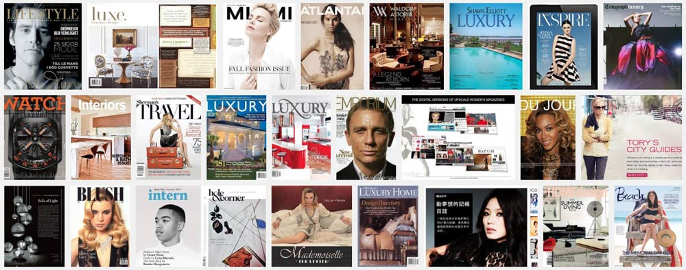 Luxury news for milleniums, technology changed everything.