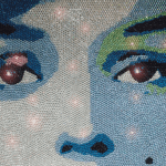 65,000 Swarovski crystals for Marylin by Claire Milner