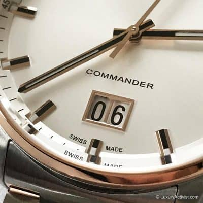 MIDO Commander Big Date: Celebrating 100 Years of Quality, Innovation And Design.