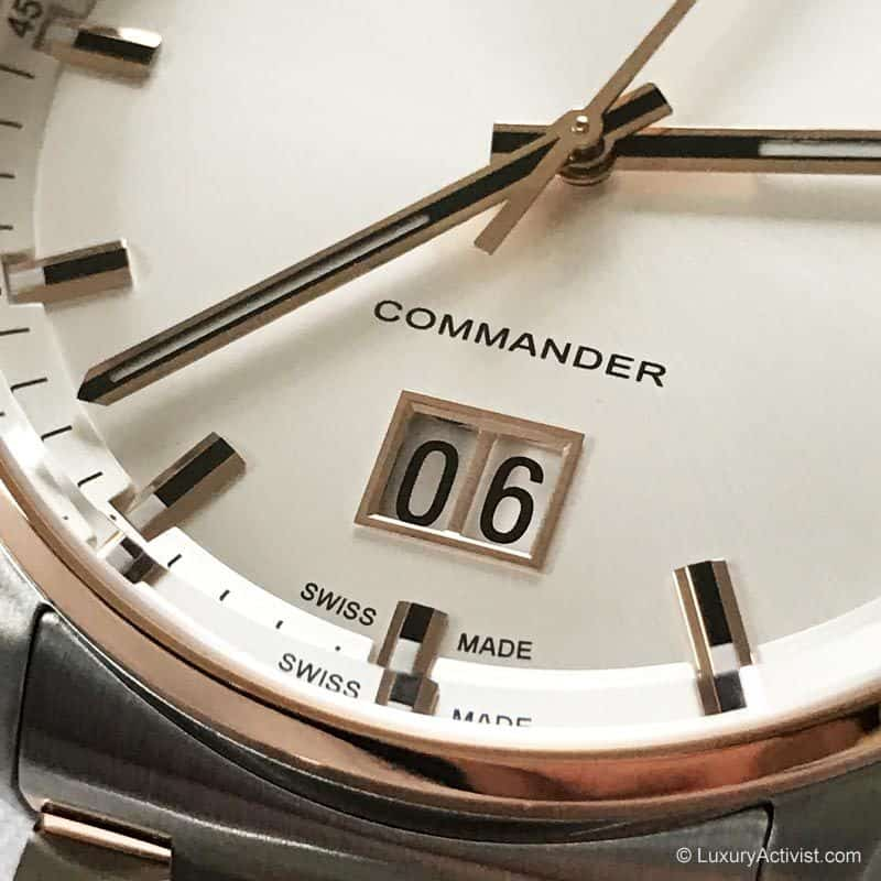 41a0b268ae0 MIDO Commander Big Date  Celebrating 100 Years of Quality ...