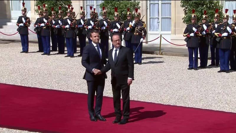 Passation-Hollande-Macron