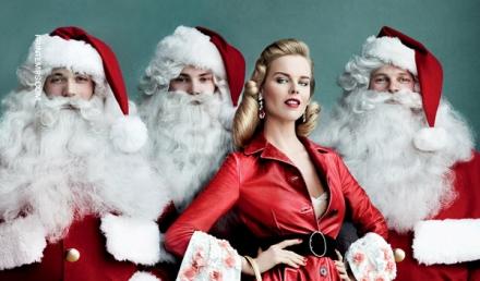 Printemps reveals the new Christmas campaign with Eva Herzigova