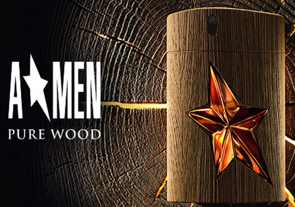 A*Men Pure Wood, shaped like a man.
