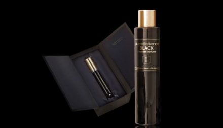 Puredistance Black. Mystery in a master fragrance.