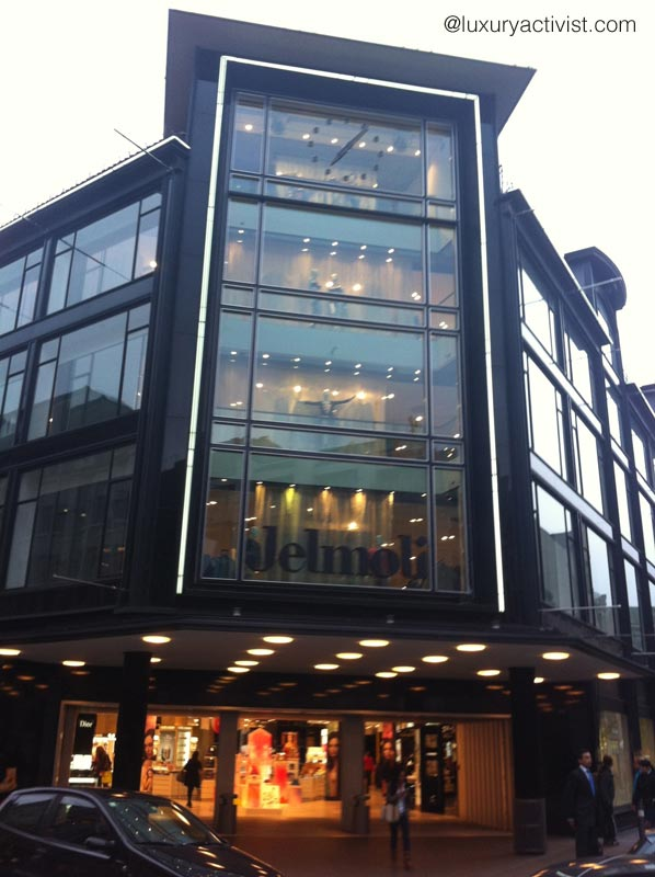 Jelmoli, luxury department store in Zurich