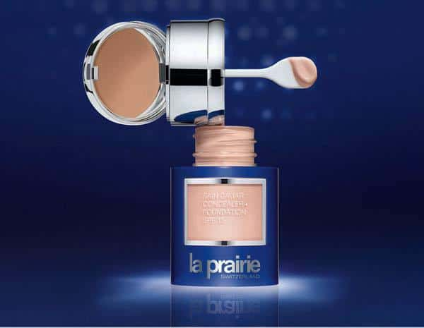 La Prairie Skin Caviar Concealer + Foundation SPF15: Luxury and cleverness.