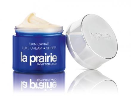 La Prairie Skin Caviar Luxe Cream Sheer, the ultimate luxury collection
