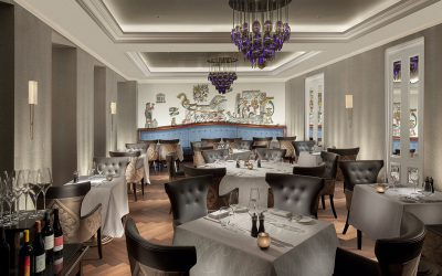 La Brasserie du Royal by Marc Haeberlin – beautiful.