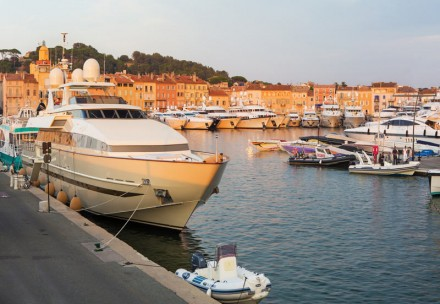 Fine Dining close to the Côte d'Azur Marinas