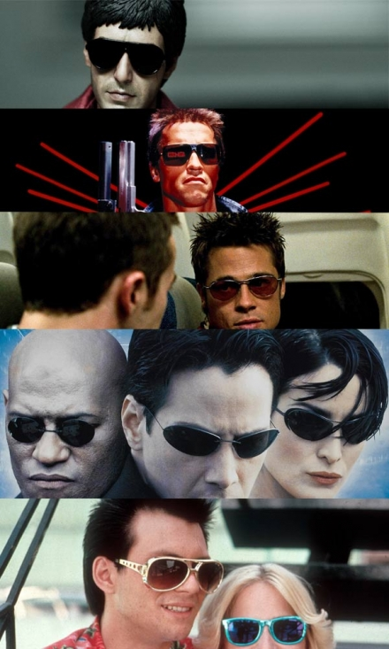 Sunglasses in the Movies – A List of the Most Iconic.