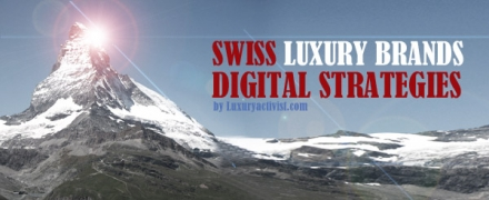 Swiss Luxury brands digital strategies