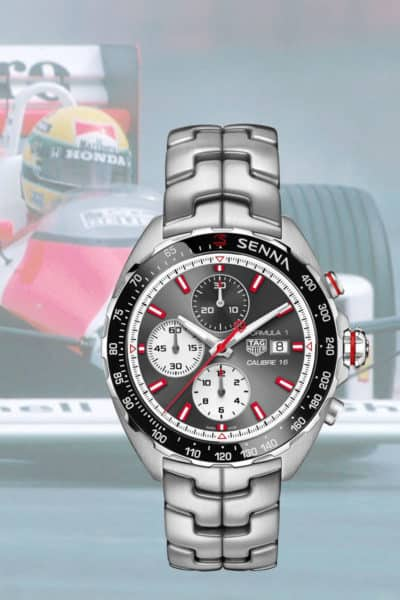Tag Heuer honors Ayrton Senna With Two Limited Editions. Feel Your Heart Race!