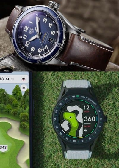 Tag Heuer 2019 Baselworld Reveal: Connected Modular 45 Golf Edition & Autavia Isograph line