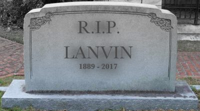 Friday Chronicle #29: A Titanic named Lanvin. Guess who is the iceberg?