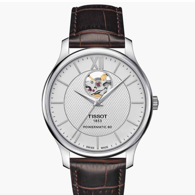 Tissot-Mechanical-Open-heart-powermatic-80
