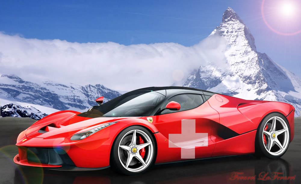 Top 10 preferred luxury cars in Switzerland: Porsche is leading.
