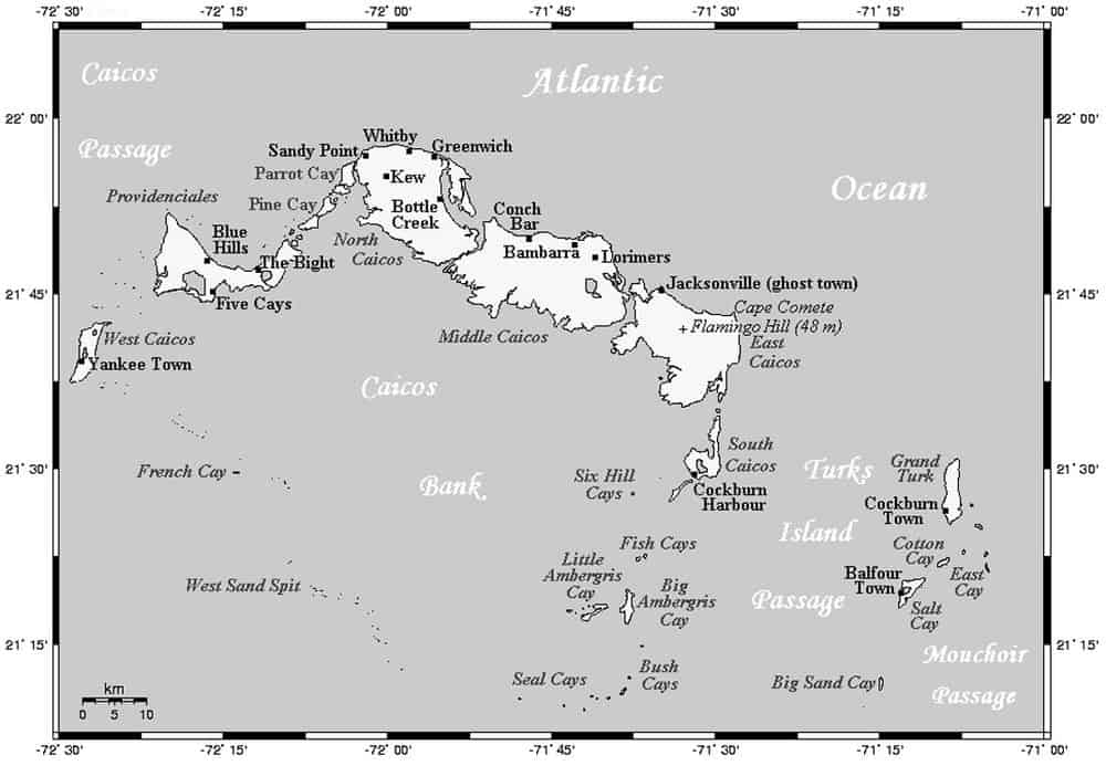 Turks-and-Caicos-map
