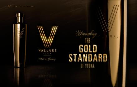 Vallure Vodka – The Gold standard of Vodka
