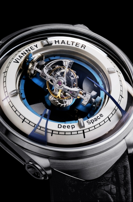 Vianney Halter Deep Space, a 3 axis tourbillon coming from outer space!
