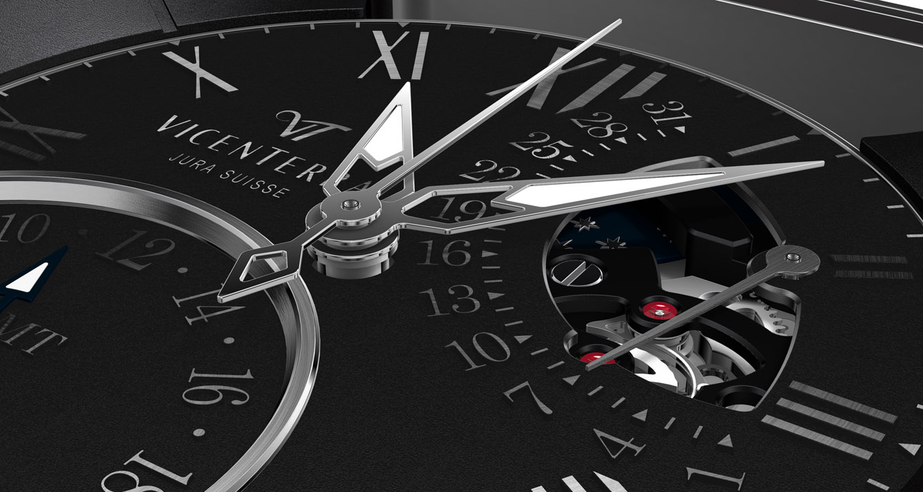 Baselworld 2013 – Vicenterra GMT-3 Serie 2