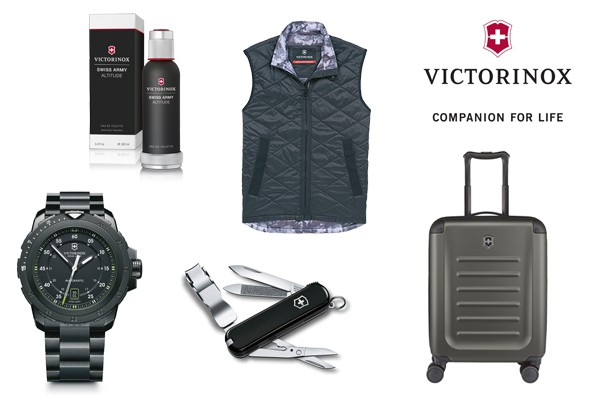 Victorinox Christmas selection by LuxuryActivist.com. Black is the new black.