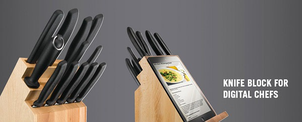 New Victorinox Cutlery block for Digital chefs