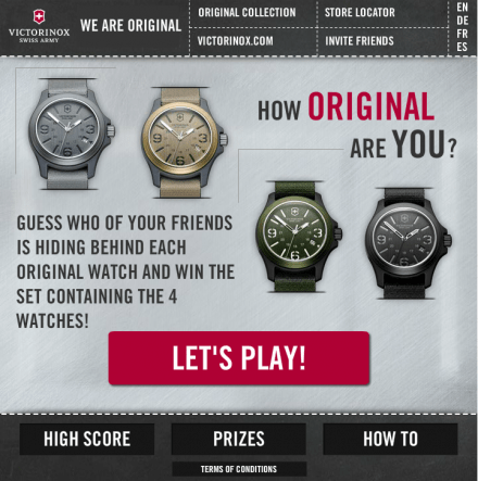Victorinox Original Watch, How original are you?