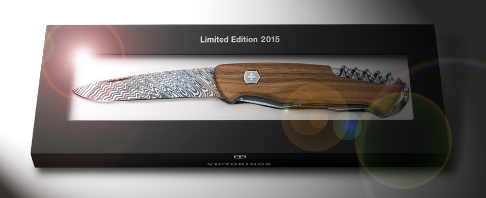 Victorinox Rangerwood Damast Limited Edition 2015 Luxury
