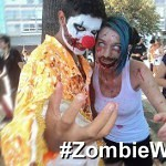 After the flash-mobs, now it is the zombie walks.