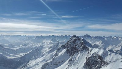 From Mountains of Work to Mountains of Snow: London to the Alps