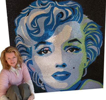 claire-milner-marilyn-portrait