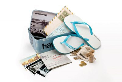 Havaianas celebrates its 55th anniversary. Parabéns!
