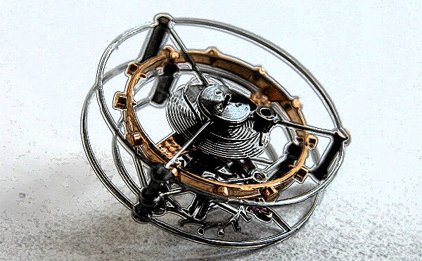 The Tourbillon, master complication in watch-making since 1801.