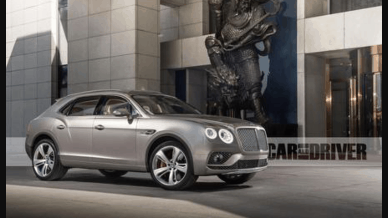 Bentley-Bentayga-SUV-luxury