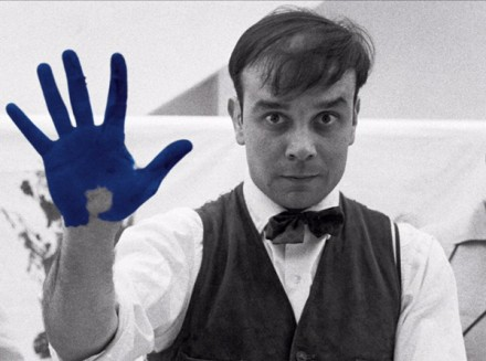 Yves Klein, the ultimate blue.