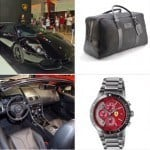 Fashion Accessories for Supercar Driving