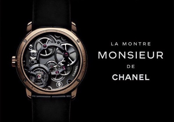 Chanel-Monsieur-watch-beige-gold