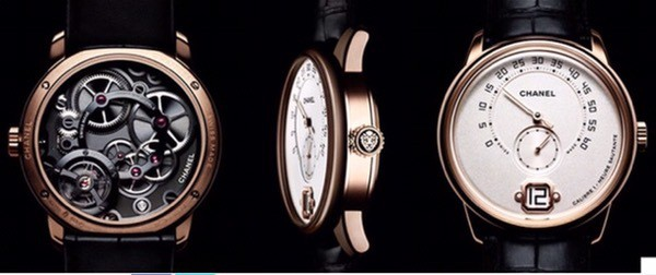 "Chanel launches the MONSIEUR Watch as a ""esprit manufacture""."