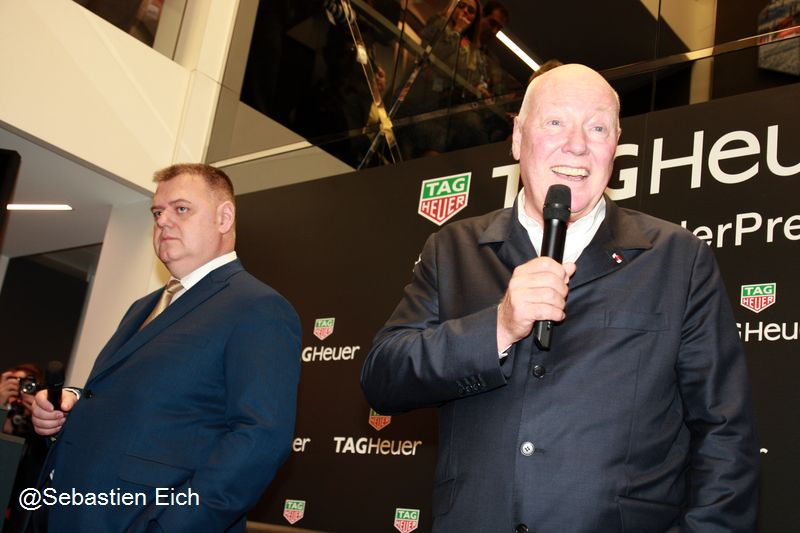 Jean-Claude Biver et Guy Sémon
