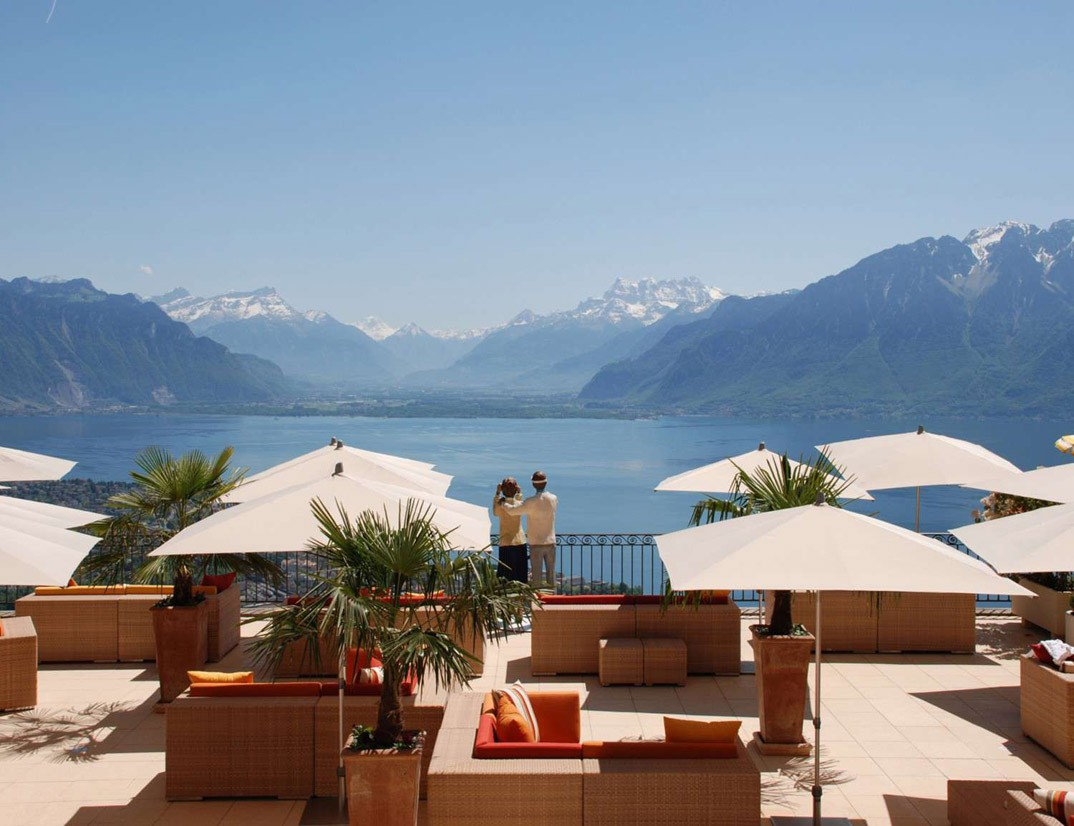 top 5 luxury hotels around leman lake switzerland. Black Bedroom Furniture Sets. Home Design Ideas