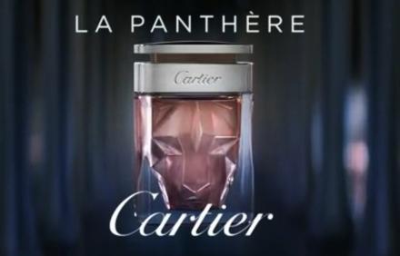 Cartier, La Panthère Eau de Parfum. Sensual instinct.