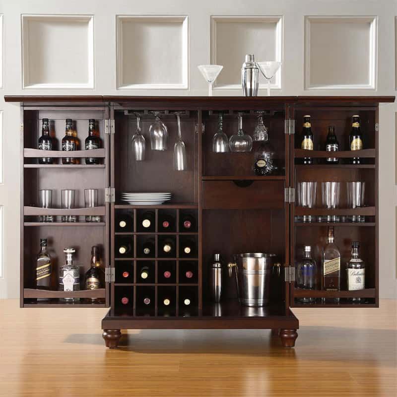 luxury-wine-bar-at-home